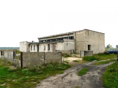 Borki, gmina Pisz- rozbiórka budynku kotłowni