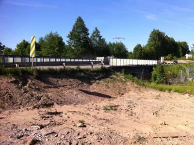 Ełk- rozbiórka obiektu mostowego