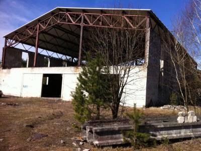 Studzianki- rozbiórka obiektów fabryki domów